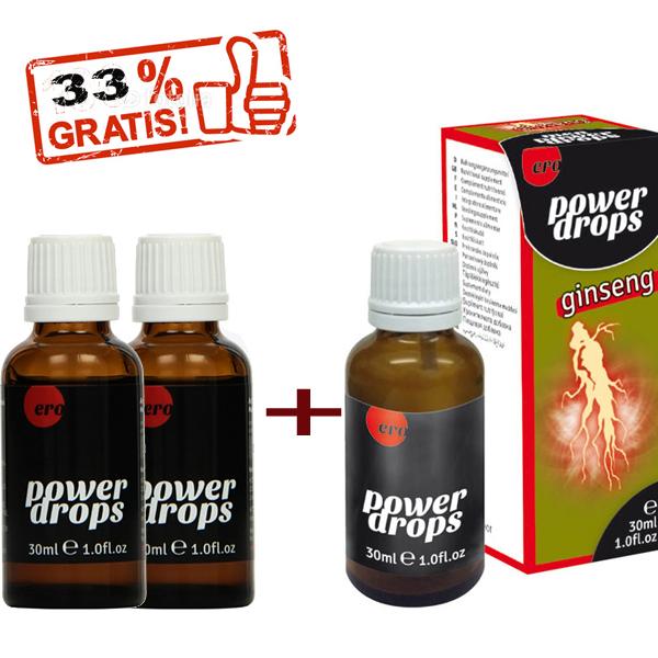 Beliebte Natürliche Potenzmittel - 3x30 ml Ginseng Power